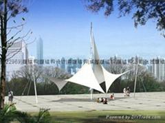 重慶景觀膜結構工程