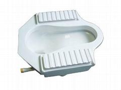 節水型自動蹲便器