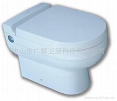 节水型落地座便器
