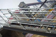 平台球型立柱栏杆