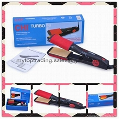 Wholesale Top Quality Farouk CHI Original Turbo Big 2'' Ceramic Flat Iron