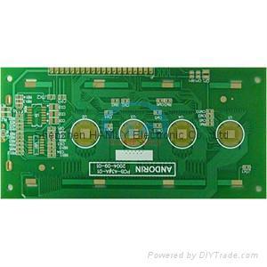 2 layer printed circuit board 1