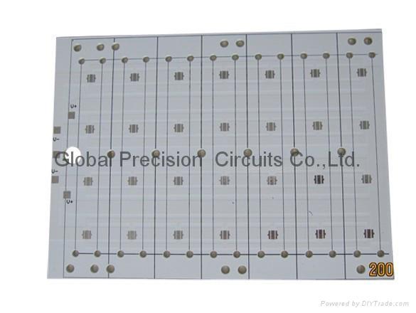 aluminum PCB for garden lamp 1