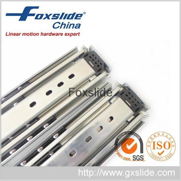 FX3076三節全展超重型鋼珠滑軌系列 3