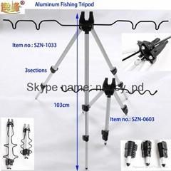 fishing rod holder tripod rod rest
