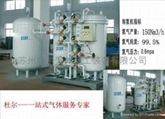 制氮机(分子筛 分析仪 钯触媒 气动阀)