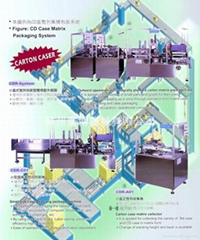 Small size Case-wrapping Package machine