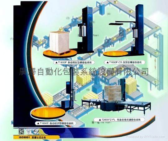 托盤式薄膜纏繞機 1