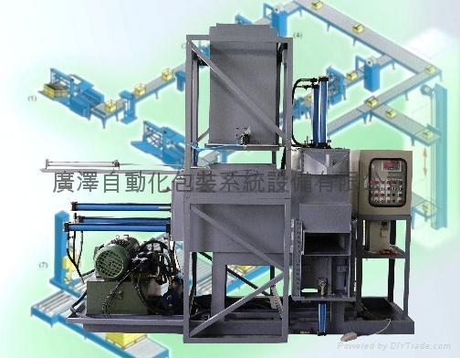 石棉纖維 膨鬆物料 壓縮包裝機 1