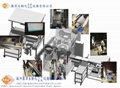 Automatic rotary packaging machine & hot sealing blanking