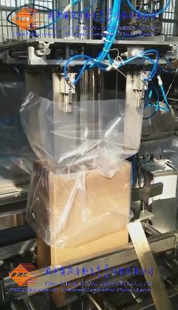 PE薄膜套袋装袋入箱机 1