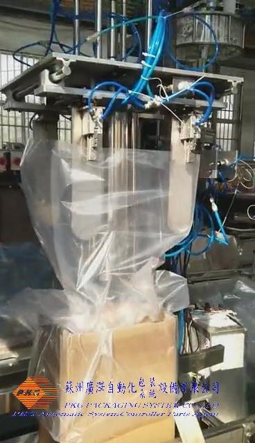 PE薄膜套袋装袋入箱机 3