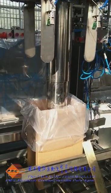 PE薄膜套袋装袋入箱机 5