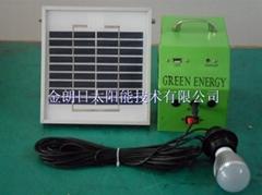 Household solar lighting system