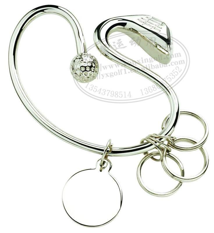 高尔夫礼品球装饰钥匙挂扣 2