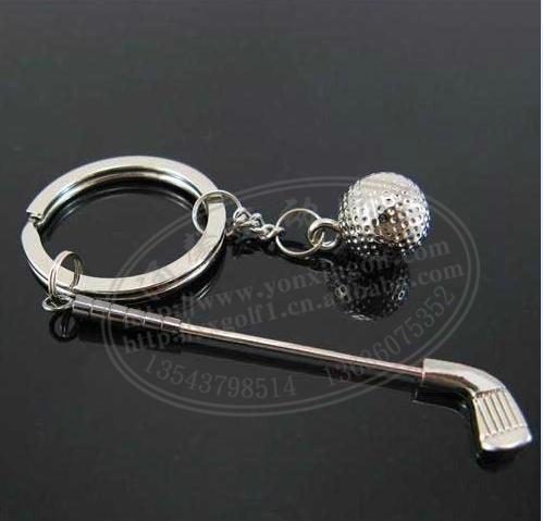 高尔夫礼品球装饰钥匙挂扣 3