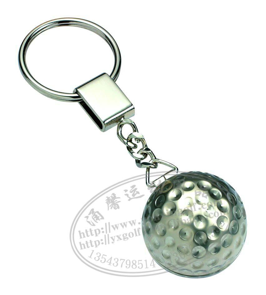 高尔夫礼品球装饰钥匙挂扣 4