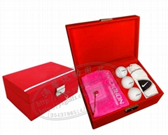 Golf gift luck festive red series