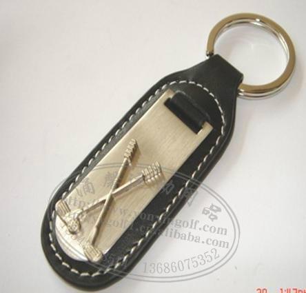 高尔夫礼品球装饰钥匙挂扣 5
