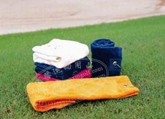 高尔夫球场用品毛巾