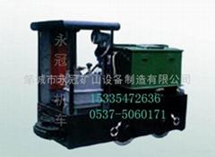 2.5吨防爆蓄电池电机车