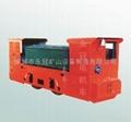 8吨蓄电池电机车