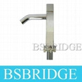 Square BRASS Cold Water Pillar Basin Tap