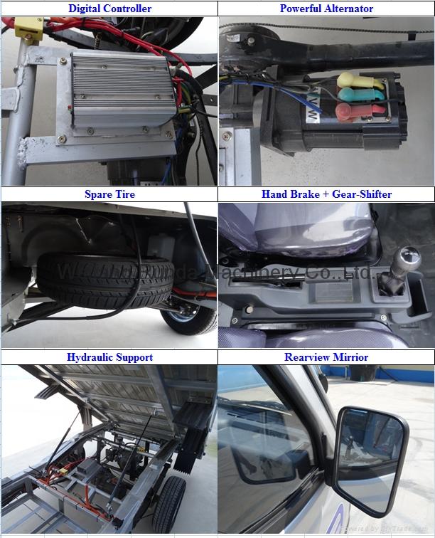 电动货车 电动微卡 电动四轮 电动搬运车 11