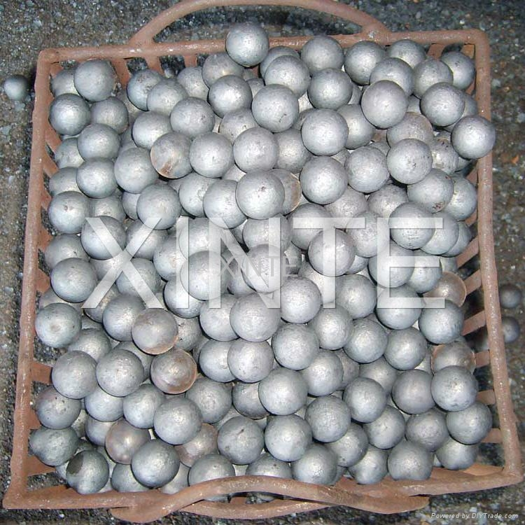 65mn material, high hardness forged grinding ball 1