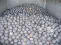 65mn material, high hardness forged grinding ball 3