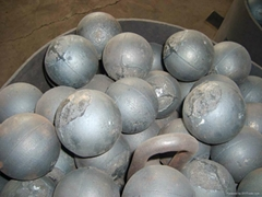 B2 material, good quality forged grinding ball, dia60mm