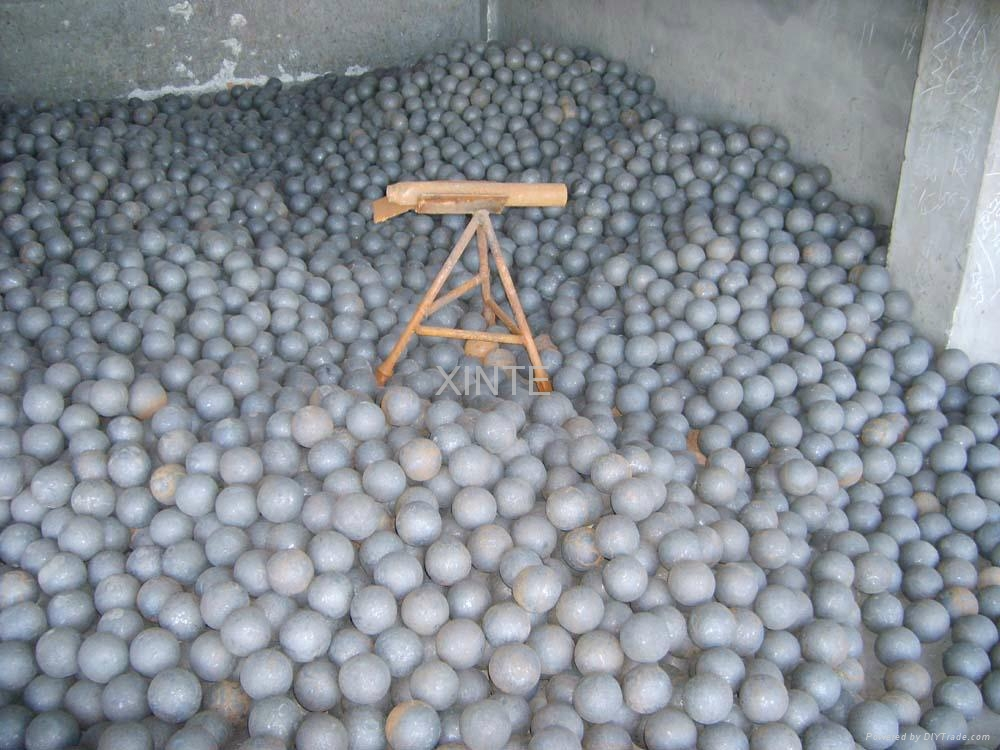 B3 material, good quality forged ball dia120mm 3