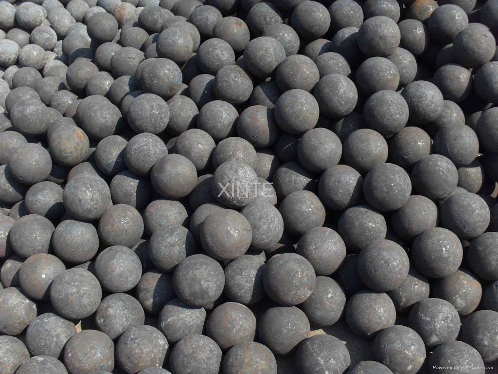 dia50mm forged grinding ball 2