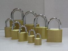 brass padlock/combination locks/hardware/copper B20