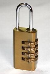 brass padlocks/combination locks/copper/hardware
