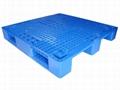 重慶環保塑料托盤出口專用叉車倉