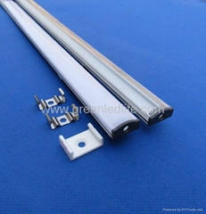 Aluminum profile for SMD5050&SMD3528 LED strip&Profilés Aluminium pour ruban LED