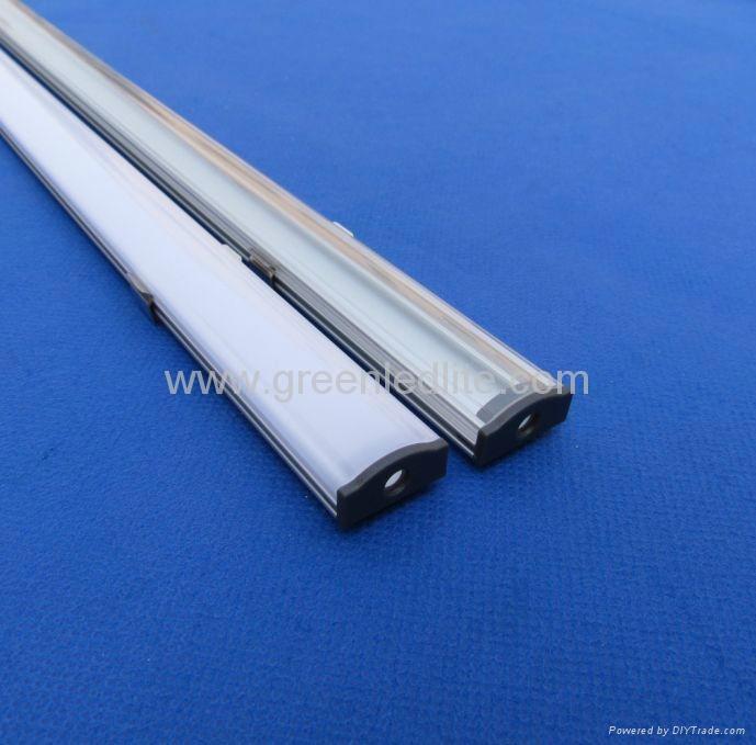Aluminum profile for SMD5050&SMD3528 LED strip&Profilés Aluminium pour ruban LED 3