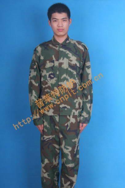 軍工防輻射防雷達高頻電磁輻射迷彩屏蔽服 1