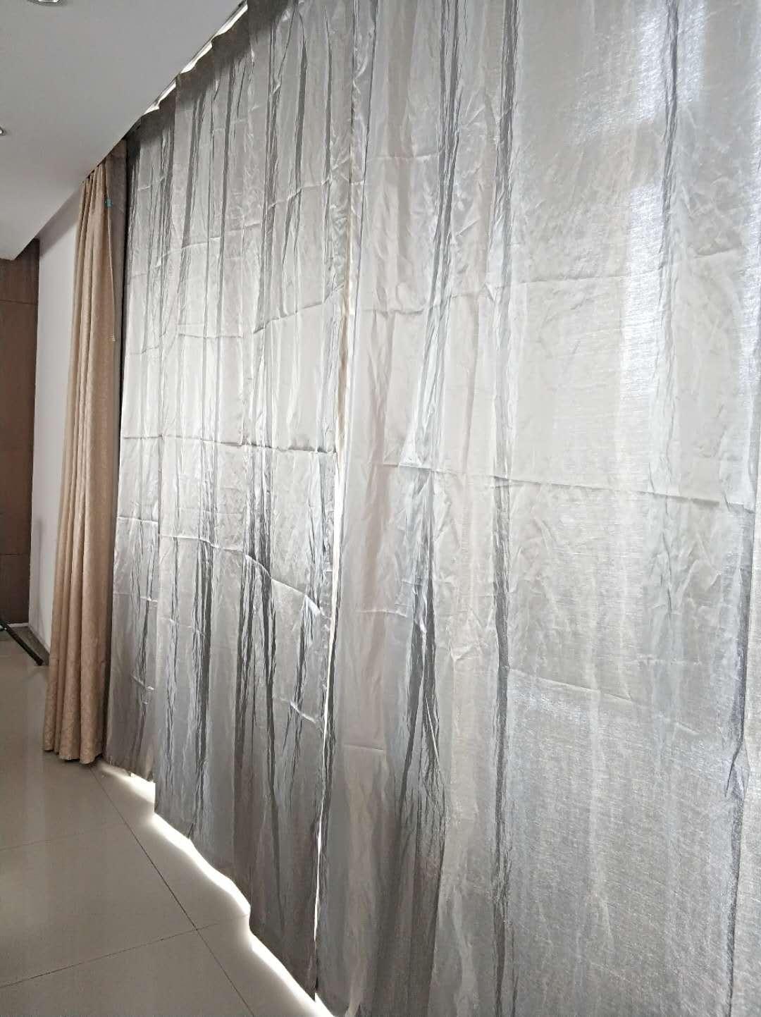 防信息泄漏抗电磁干扰防高频辐射屏蔽窗帘 5