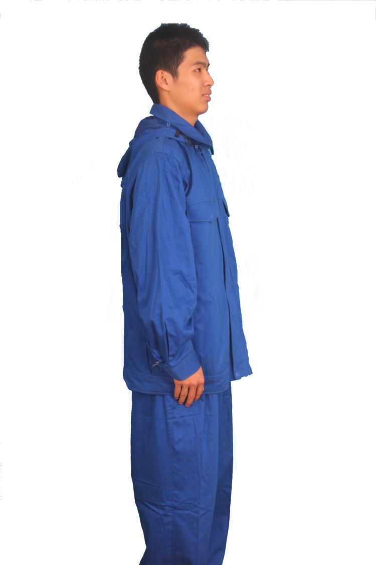 防氬弧焊高頻輻射屏蔽服鎢極焊防護分體套裝 2