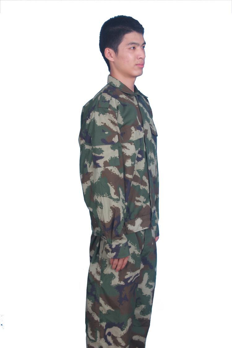 軍工防輻射防雷達高頻電磁輻射迷彩屏蔽服 2