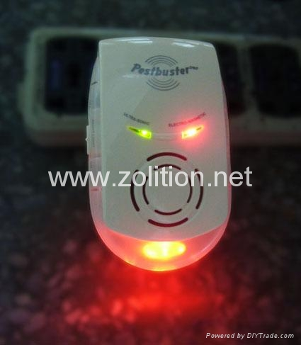 Electromagnetic and Ultrasonic Pest Repeller 1