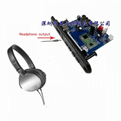 10W 4 Bluetooth WAV MP3 audio WMA decoder APE FLAC
