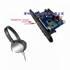 4.0藍牙APE FLAC WAV WMA MP3音頻解碼 數字功放APP控制