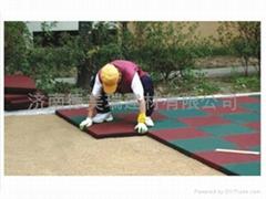 济南幼儿园橡胶地垫