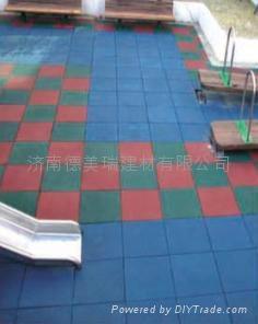 山东橡胶地砖 1