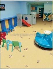 幼儿園室內塑膠地板