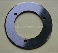 Circular Slitter Creasing Score Machine Knives for paper & printing Industry