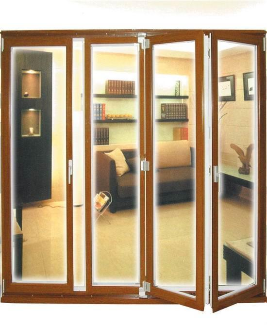 high quality aluminium glass Bi folding and sliding doors 1